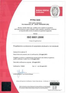 Certificato 9001-2008